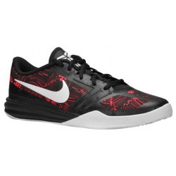 Nike Mentality - Boys' Grade School - Basketball - Shoes - Kobe Bryant - Bright Crimson/White/Black-sku:05387600