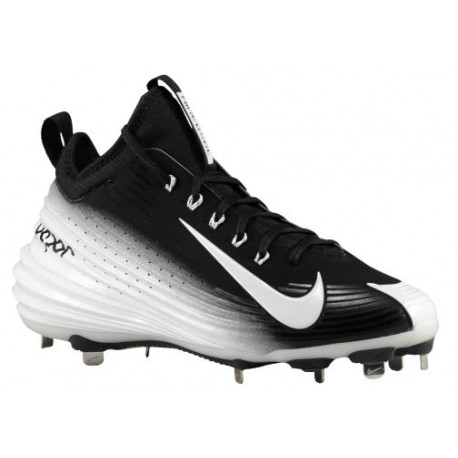 newest 500ae b892d nike vapor baseball cleats,Nike Lunar Vapor Trout - Men s - Baseball -  Shoes - Mike Trout - Black White-sku 54853010