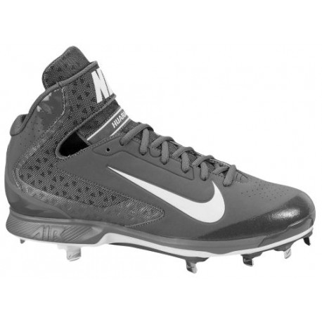 Nike Air Huarache Pro Mid Metal - Men's - Baseball - Shoes - Light  Graphite/White-sku:99235015