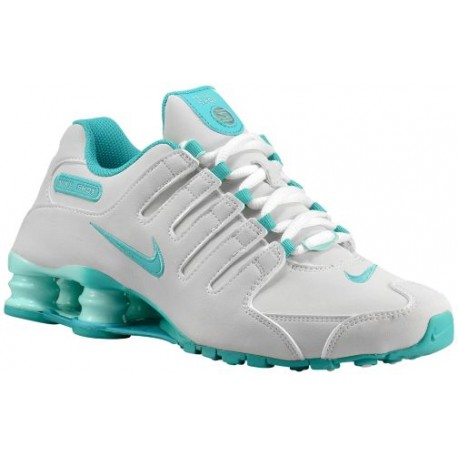 Nike Shox NZ - Women's - Running - Shoes - White/Artisan Teal/Light Retro-sku:88312109