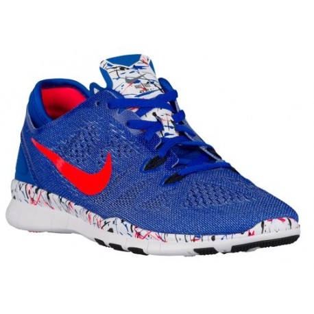 on sale 4a5f3 5a007 nike free tr fit 5.0,Nike Free 5.0 TR Fit 5 - Women s - Training - Shoes - Racer  Blue Black White Bright Crimson-sku 04695405