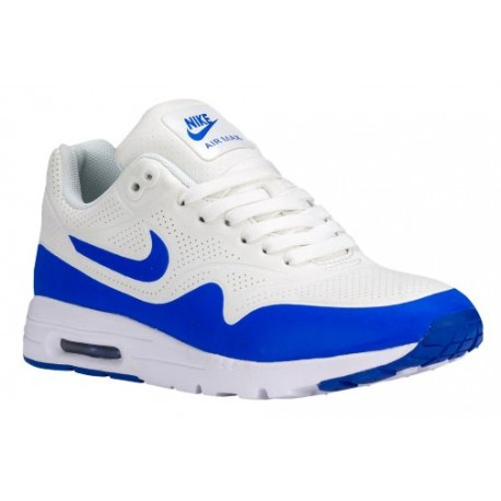 Nike Air Max 1 Ultra Women's Running Shoes Summit WhiteRacer BlueWhite sku:04995100