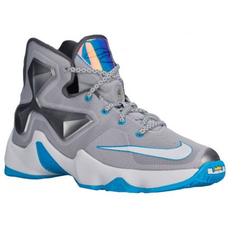 online store 317fe 711a7 Nike LeBron XIII - Boys' Grade School - Basketball - Shoes - LeBron James -  Wolf Grey/Blue Lagoon/Dark Grey/White-sku:08709014