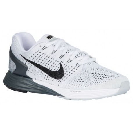 Nike Lunarglide 7 - Women's - Running - Shoes - White/Anthracite/Cool Grey