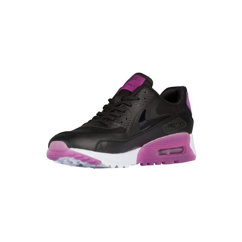 ... Nike Air Max 90 Ultra - Women's - Running - Shoes - Black/Purple Dusk  ...