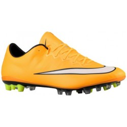 Nike Mercurial Vapor X AG - Men's - Soccer - Shoes - Laser Orange/Black/Volt/White-sku:48552800