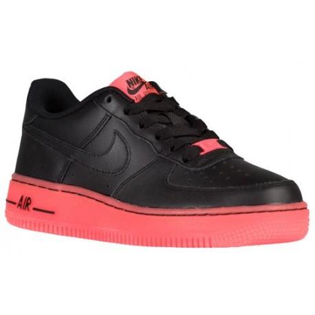 huge discount 6541f 65784 nike air force 1 black low,Nike Air Force 1 Low - Boys  Grade School -  Basketball - Shoes - Black Hot Lava-sku 48981001
