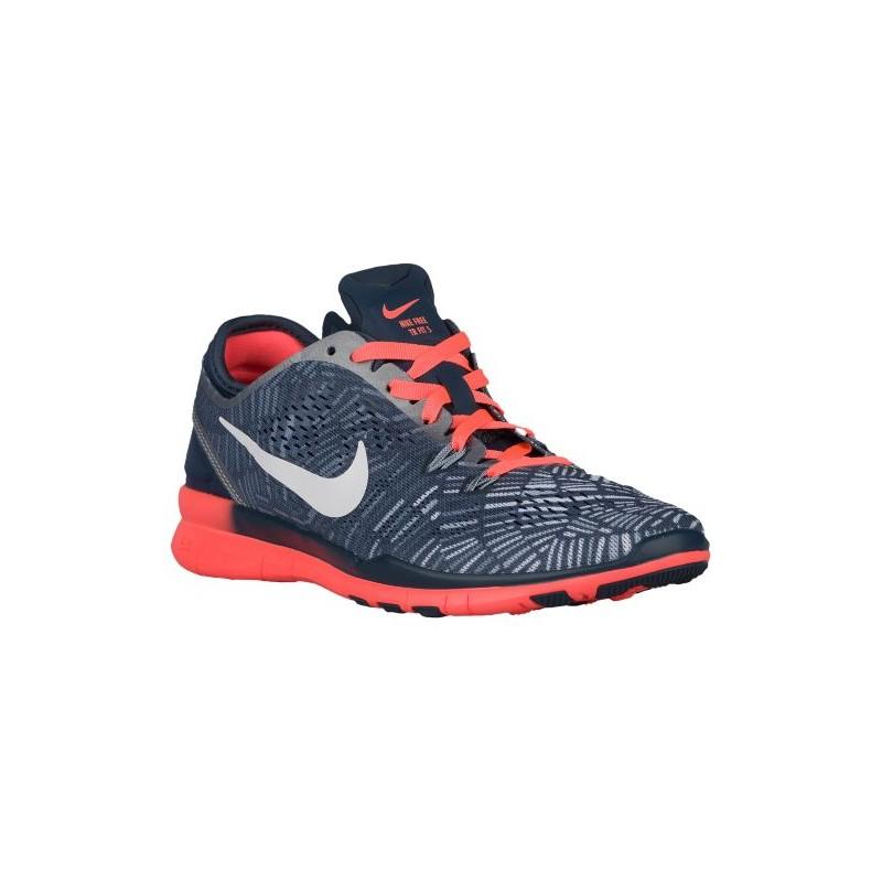 online store 62c69 00aa9 Nike Free 5.0 TR Fit 5 - Women's - Training - Shoes - Squadron Blue/Bright  Mango/Blue Grey/White-sku:04695406