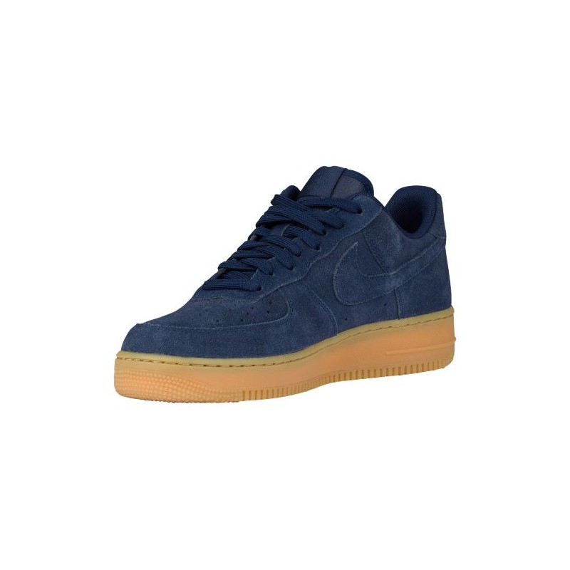... Nike Air Force 1 Low - Men's - Basketball - Shoes - Midnight Navy/ Midnight ...