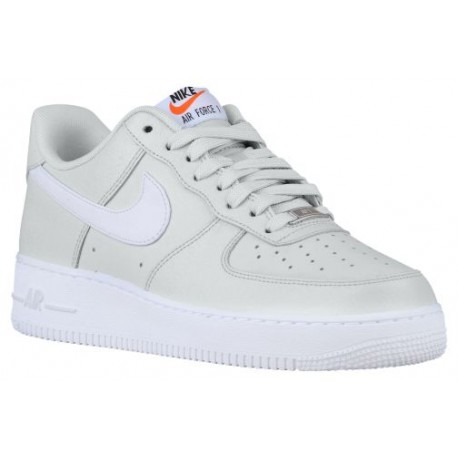 Nike Air Force 1 Low - Men's - Basketball - Shoes - Pure Platinum/White