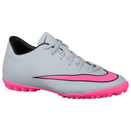 sports shoes f844f f7517 Nike Mercurial Victory V TF - Men's - Soccer - Shoes - Wolf  Grey/Black/Hyper Pink-sku:51646060