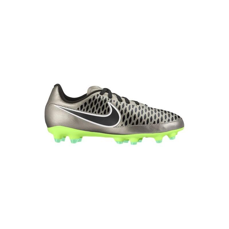 super popular 2728d 6ca0b Nike Magista Onda FG - Boys' Preschool - Soccer - Shoes - Metallic  Pewter/Black/Ghost Green/White-sku:1653010