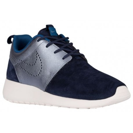 free shipping e80d0 d59b6 Nike Roshe One - Women's - Running - Shoes - Midnight Navy/Metallic Blue  Dusk/Silver/Blue-sku:20228400