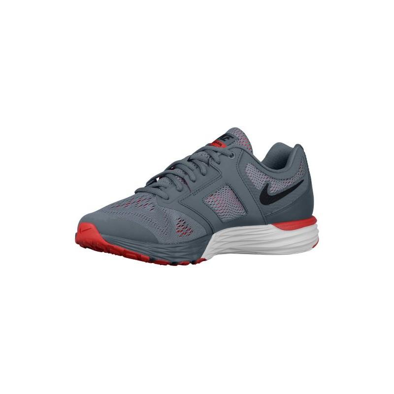 ... Nike Tri Fusion Run - Men's - Running - Shoes - Cool Grey/University Red  ...