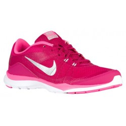 Nike Flex Trainer 5 - Women's - Training - Shoes - Sport Fuchsia/Metallic Silver/Pink Pow/Vivid Pink-sku:24858603