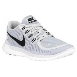 Nike Free 5.0 2015 - Men's - Running - Shoes - Pure Platinum/Wolf Grey/Cool Grey/Black-sku:24382003