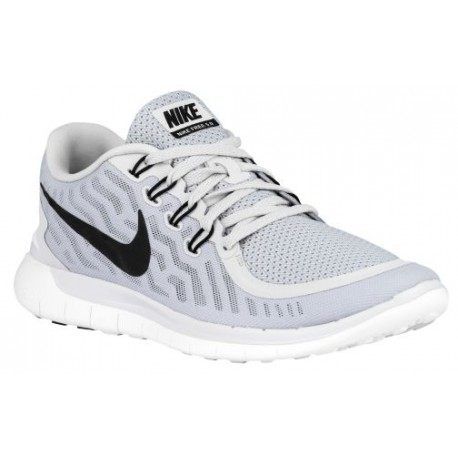 separation shoes 8001e ba91f Nike Free 5.0 2015 - Men's - Running - Shoes - Pure Platinum/Wolf Grey/Cool  Grey/Black-sku:24382003