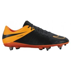 Nike Hypervenom Phinish Leather SG Pro - Men's - Soccer - Shoes - Black/Total Orange/Black-sku:59983008