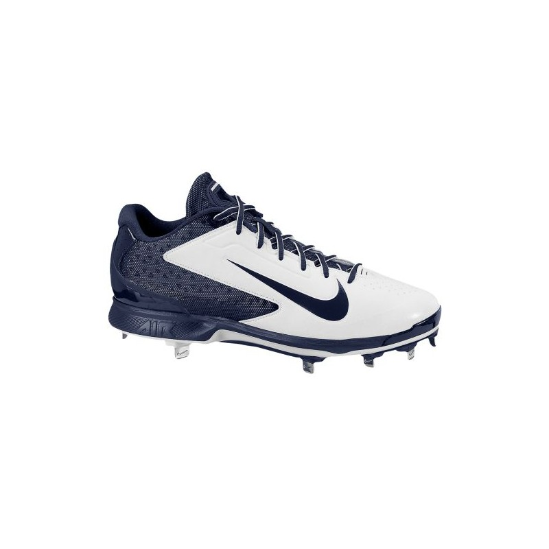 Nike Air Huarache Pro Low Metal - Men's - Baseball - Shoes - White/Midnight  Navy-sku:99233141