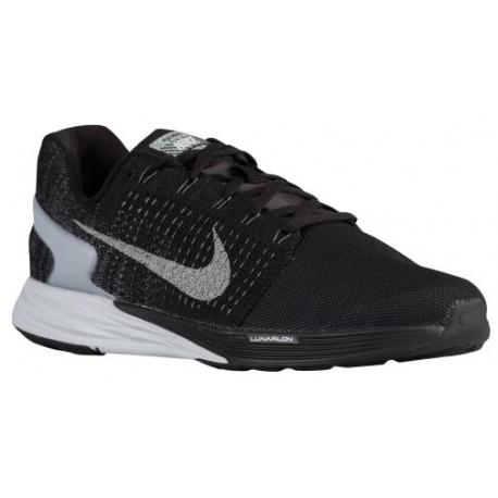 huge discount 8eaf1 6c8d3 ... uk nike lunarglide 7 flash mens running shoes black pure platinum c82fd  caea5