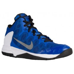 Nike Air Without A Doubt - Boys' Preschool - Basketball - Shoes - Game Royal/White/Black/Reflect Silver-sku:59984400