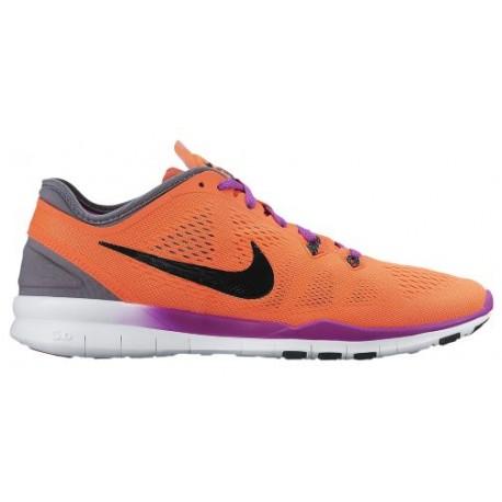 best sneakers 3c5a8 651cc Nike Free 5.0 TR Fit 5 - Women's - Training - Shoes - Hyper  Orange/Black/Cool Grey/Vivid Purple-sku:04674801