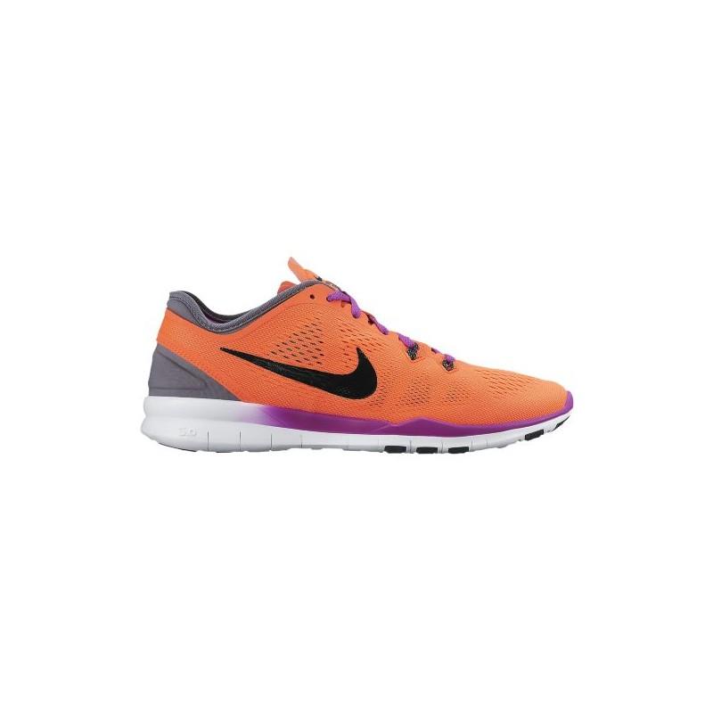 best sneakers 6aa95 42ee3 Nike Free 5.0 TR Fit 5 - Women's - Training - Shoes - Hyper  Orange/Black/Cool Grey/Vivid Purple-sku:04674801