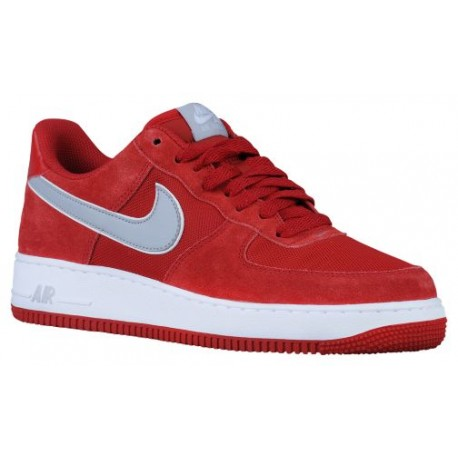 half off eb954 0f82f nike air force 1 low red,Nike Air Force 1 Low - Men s - Basketball - Shoes  - Gym Red Wolf Grey White-sku 88298623