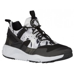 Nike Air Huarache Utility - Men's - Running - Shoes - Pure Platinum/Dark Grey/Wolf Grey/Black-sku:06807001