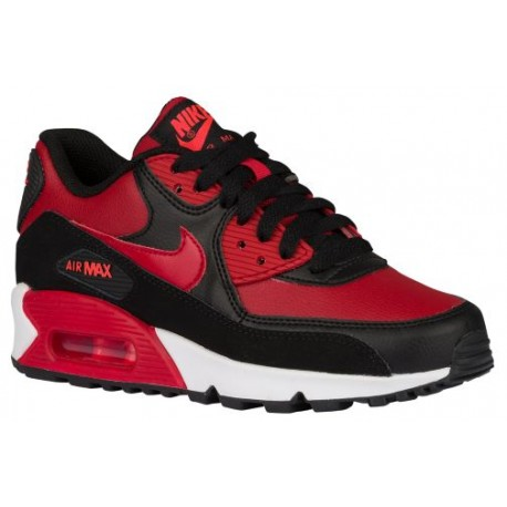 Nike Air Max 90 - Boys' Grade School - Running - Shoes - Gym Red