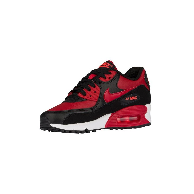 ... Nike Air Max 90 - Boys' Grade School - Running - Shoes - Gym Red ...