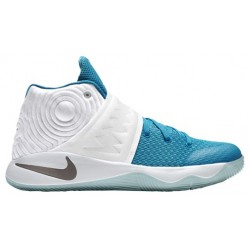 Nike Kyrie 2 - Boys' Grade School - Basketball - Shoes - Kyrie Irving - White/Obsidian/Blue Lagoon/Blue Force-sku:26496144