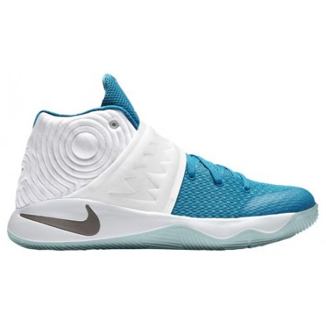 best service 87acf c6d8d Nike Kyrie 2 - Boys' Grade School - Basketball - Shoes - Kyrie Irving -  White/Obsidian/Blue Lagoon/Blue Force-sku:26496144