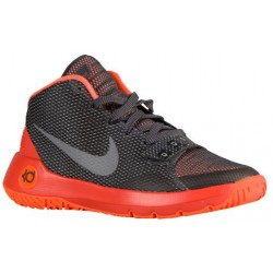 Nike KD Trey 5 III - Boys' Grade School - Basketball - Shoes - Kevin Durant - Anthracite/Reflect Silver/Total Orange-sku:6887000