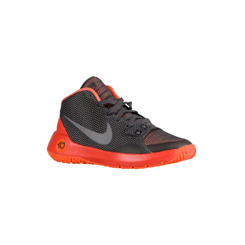 Orange Basketball Shoes Youth