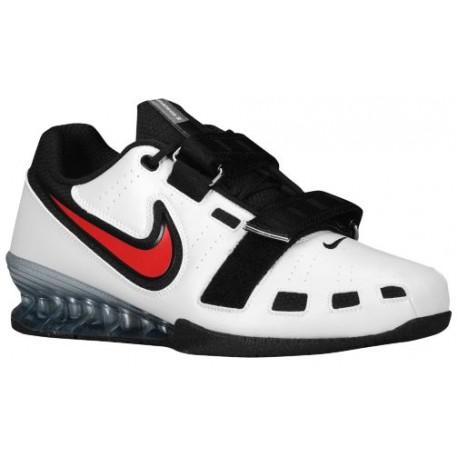 Nike Romaleos II Power Lifting - Men's - Training - Shoes - White/Black/