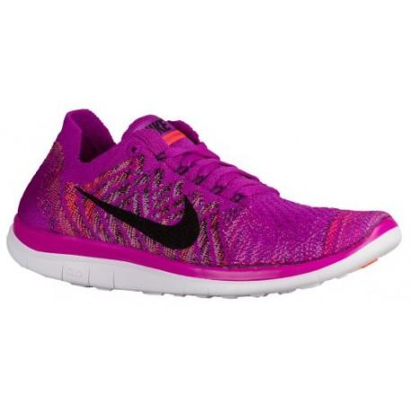 wholesale dealer 01054 7ee31 nike free flyknit 4.0 2015,Nike Free 4.0 Flyknit 2015 - Women s - Running -  Shoes - Vivid Purple Fuchsia Glow Bright Crimson Bl