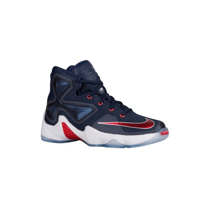 new product 6a281 c77b2 Nike LeBron XIII - Boys  Grade School - Basketball - Shoes - Midnight Navy