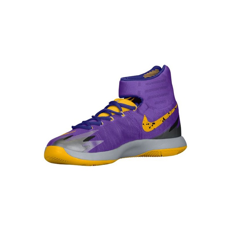 purple nike zoom basketball shoes