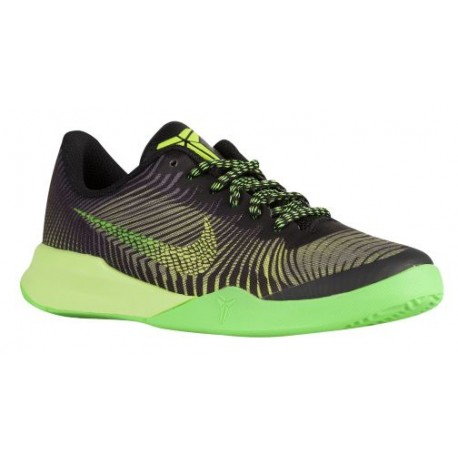 Nike Mentality II - Boys' Grade School - Basketball - Shoes - Kobe Bryant - Black/Volt/Voltage Green/Dark Grey/Anthracite-sku:20
