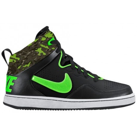Nike First Flight - Boys' Preschool - Basketball - Shoes - Black/Green Strike/Bamboo/Cargo Khaki/Medium Olive-sku:25133007