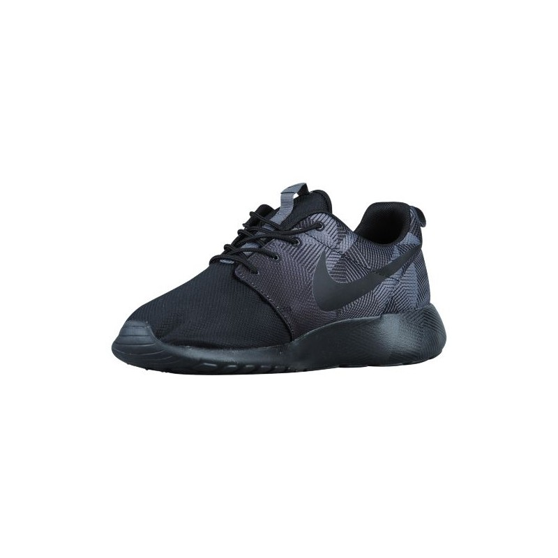 nike roshe black grey nike roshe one men 39 s running. Black Bedroom Furniture Sets. Home Design Ideas