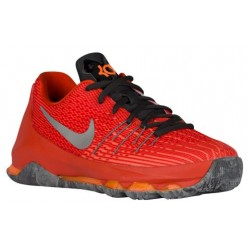 Nike KD 8 - Boys' Grade School - Basketball - Shoes - Kevin Durant - Total Orange/Rflct Silver/Tm Orange/Bright Citrus-sku:68867
