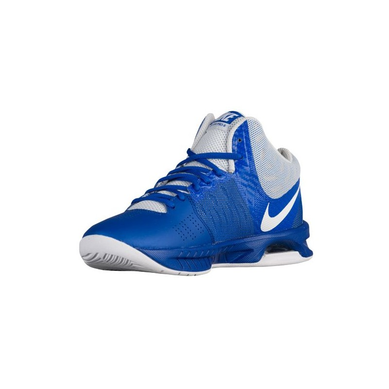 ... Nike Air Visi Pro VI - Women's - Basketball - Shoes - Game Royal/White  ...