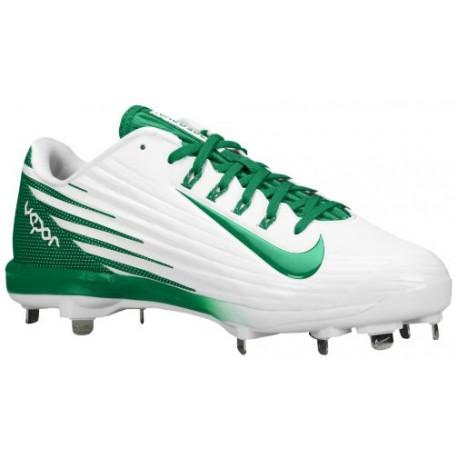 ... Nike Lunar Vapor Pro - Men's - Baseball - Shoes - White/Pine Green- ...