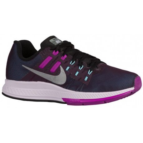 Nike Air Zoom Structure 19 Flash Womens Noble Purple/Vivid Purple/Verde/Reflective Silver Running Sh