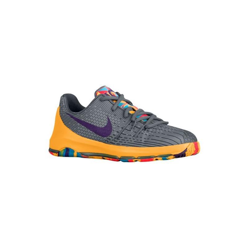 sale retailer ddb19 418f6 Nike KD 8 - Boys' Preschool - Basketball - Shoes - Kevin Durant - Wolf  Grey/Cool Grey/Blue Lagoon/Bright Citrus-sku:68868050