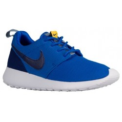 Nike Roshe One - Boys' Grade School - Running - Shoes - Hypr Cobalt/Deep Ryl Blue/Varsity Maize/Blue Grey-sku:99728417