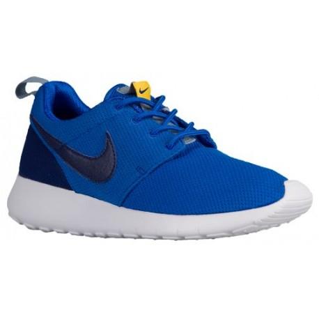 Nike Roshe One - Boys' Grade School - Running - Shoes - Hypr Cobalt/Deep Ryl Blue/Varsity Maize/Blue Grey-sku:99728417