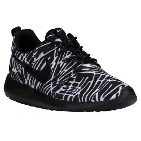 new style 2efb1 4cfee Nike Roshe One - Women's - Running - Shoes - Black/Black/White-sku:99432009